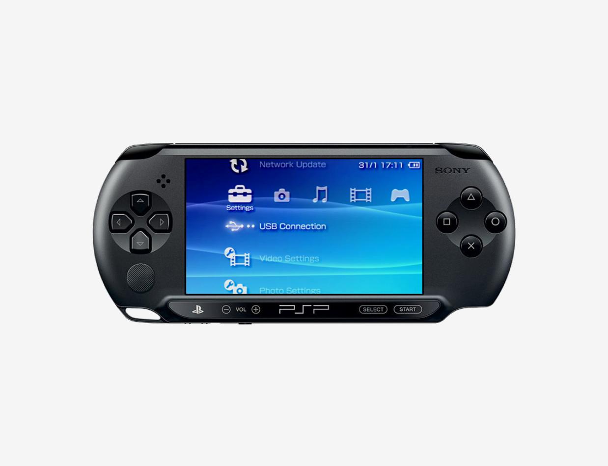 Прошивка, модульный и компонентный ремонт PSP